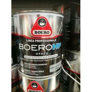 boero boero hp opaco bianco smalto all'acqua  0,750 litri
