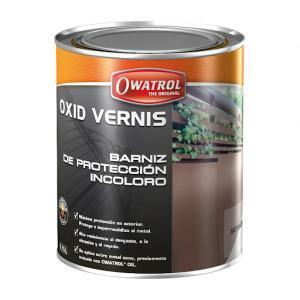 owatrol owatrol oxid vernis lucido 0,75 lt vernice protettiva trasparente per metallo
