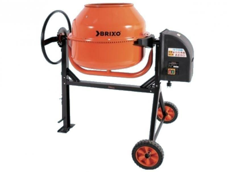 brixo betoniera brixo mixer basic w550 130 lt