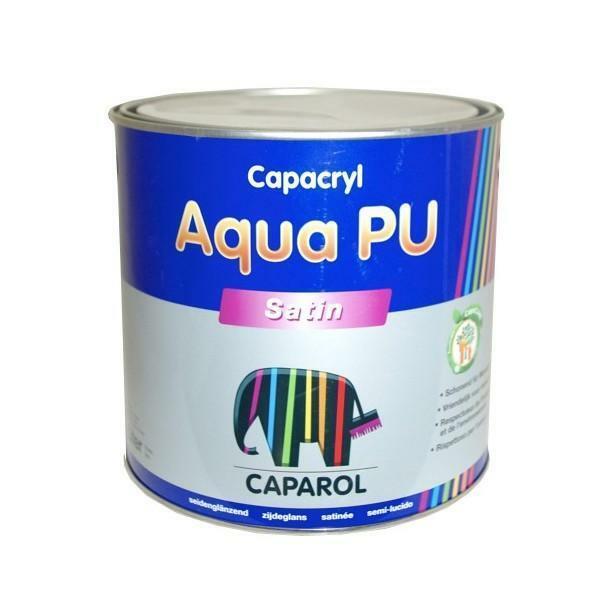 caparol caparol capacryl aqua pu satin bianco 0,750 litri smalto all'acqua satinato