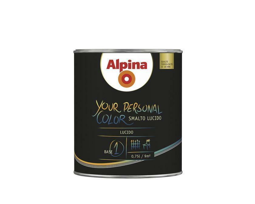 alpina alpina al smalto acqua ypc lucido m2 it 2 lt
