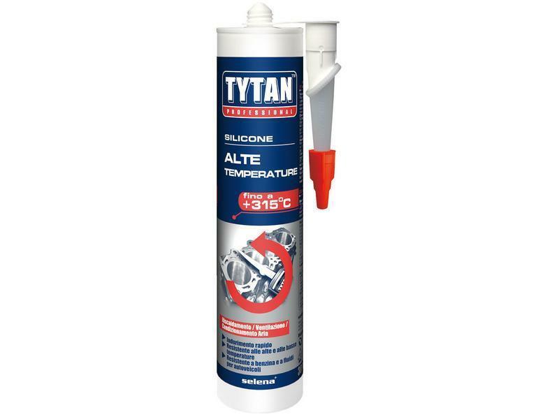 tytan professional tytan professional silicone alte temperature +315° nero 300 ml