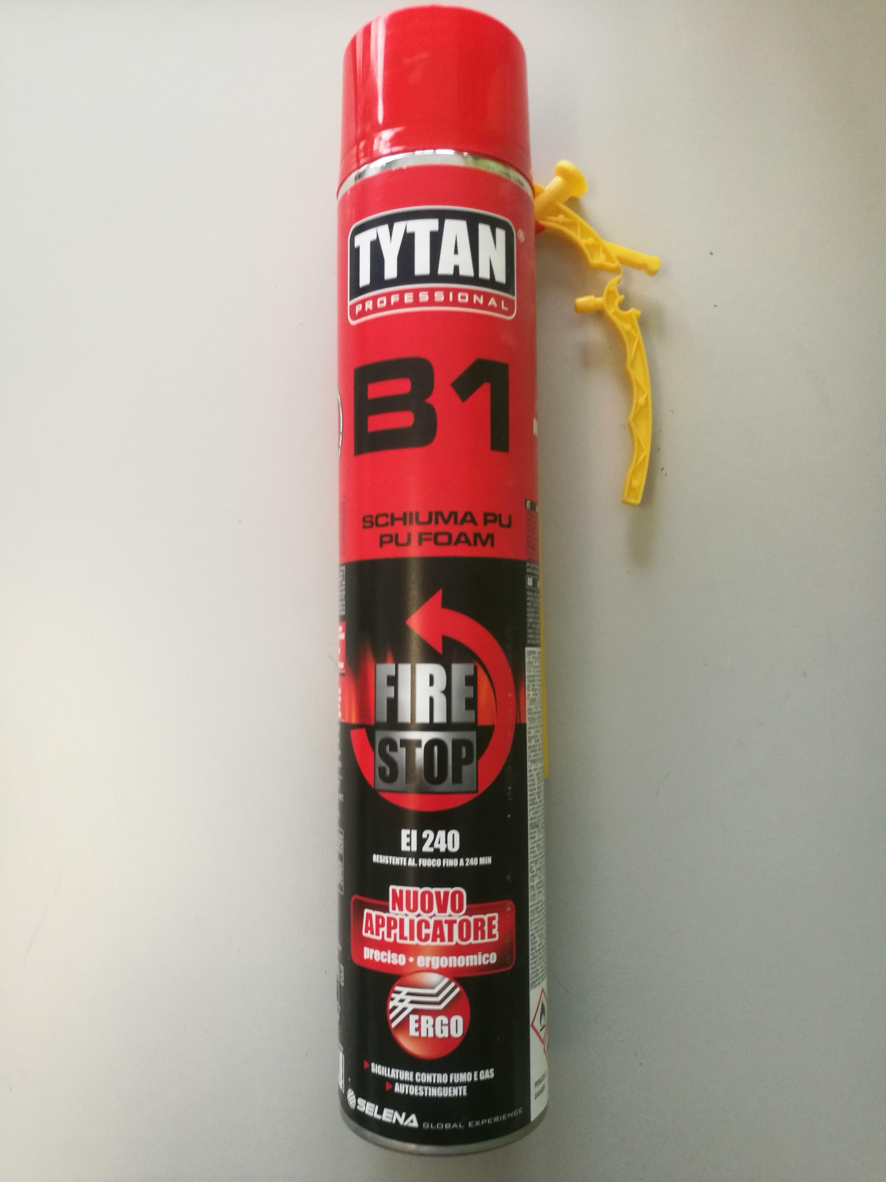 tytan professional tytan professional schiuma poliuretanica ei 240 manuale 750 ml autoestinguente