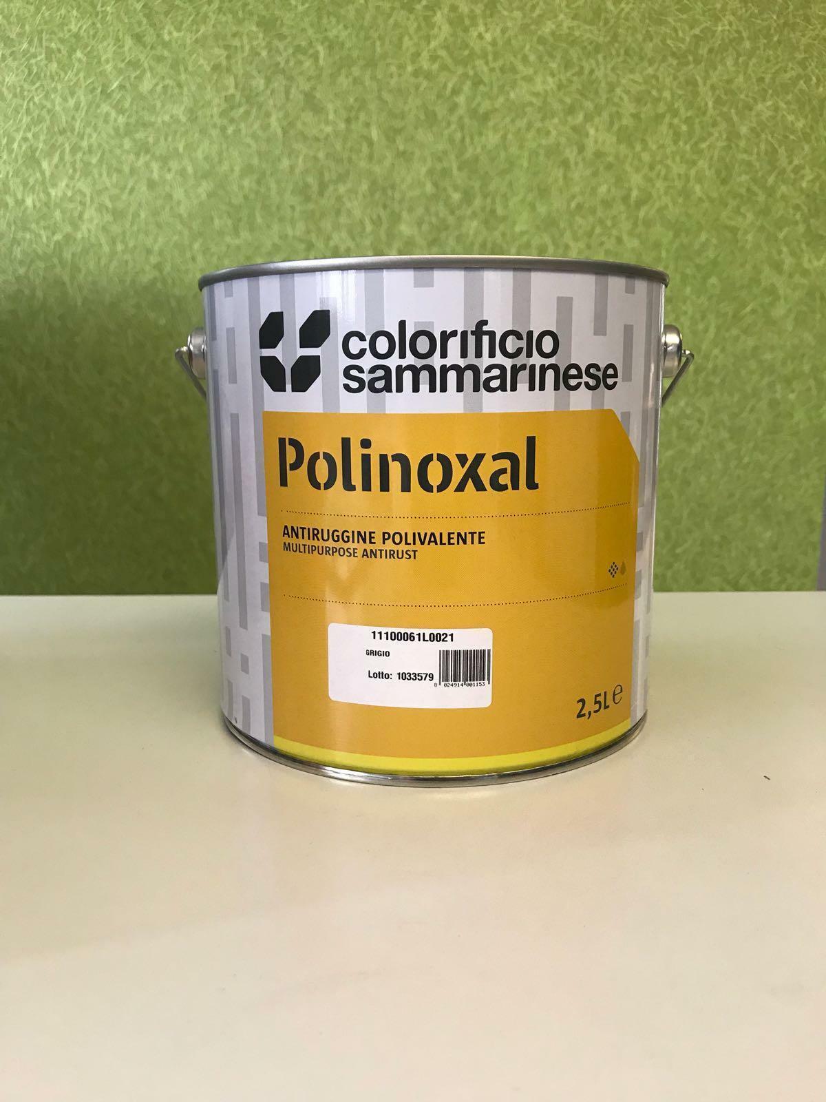 sammarinese sammarinese polinoxal antiruggine rosso ossido 16 lt