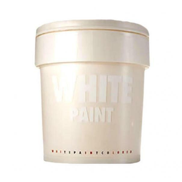 graesan graesan white paint 2,5 lt pittura decorativa bianca perlescente