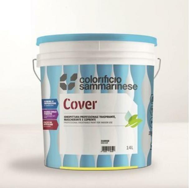 sammarinese sammarinese cover bianco 14 litri pittura traspirante coprente