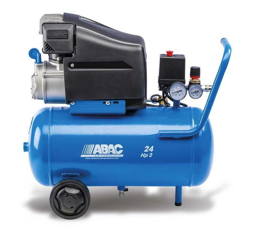 abac abac compressore d'aria pole position litri 24 new