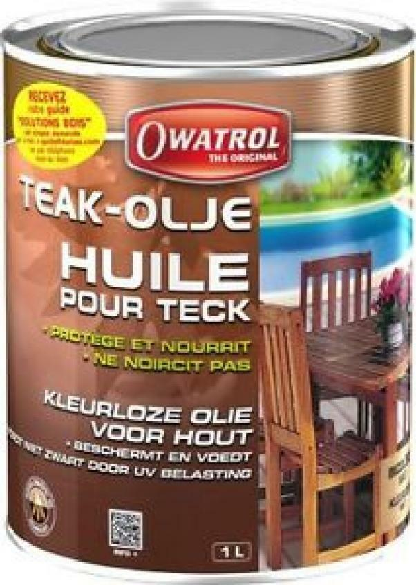owatrol owatrol teak olje 1 lt olio protettivo nutriente per legno