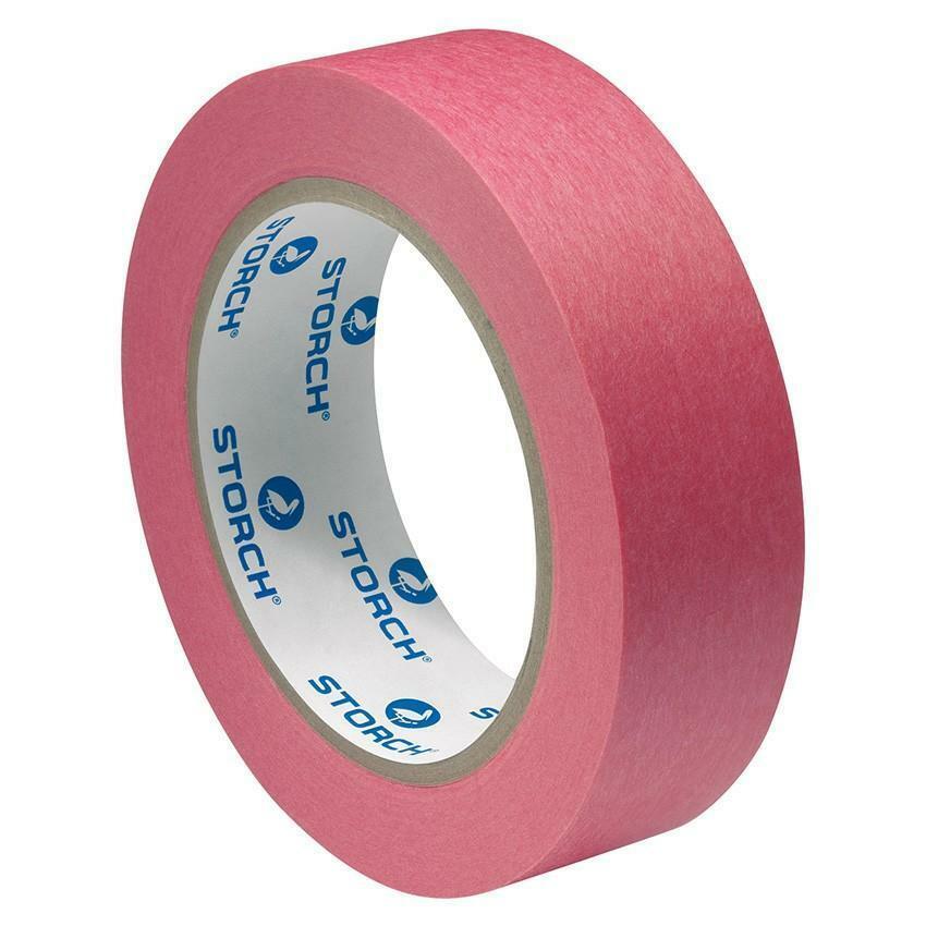 storch storch nastro adesivo premium rosso 38mm 50mt medio potere adesivo ed elevata resistenza all'umidità