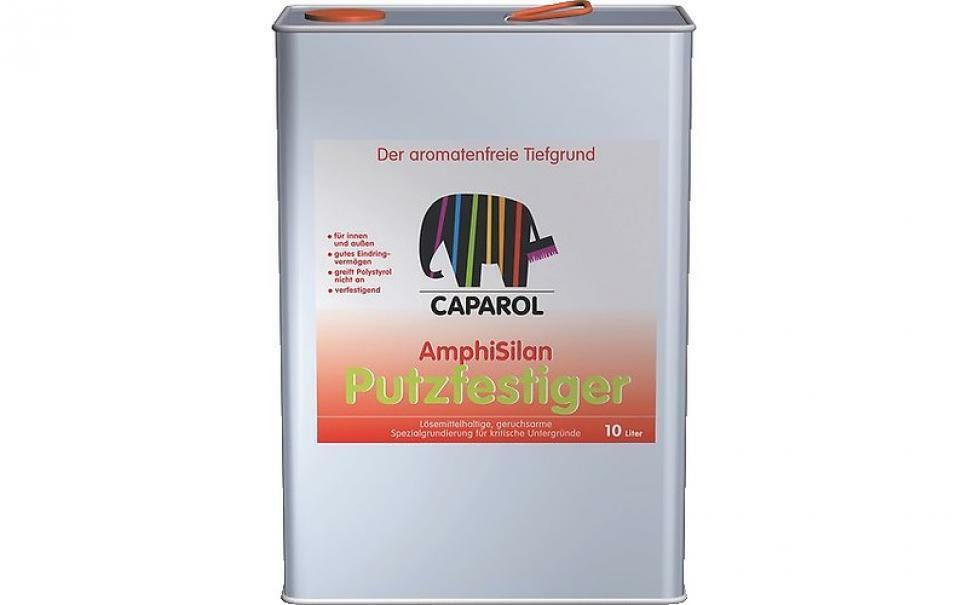 caparol caparol fondo acrilico consolidante trasparente a base solvente amphisilan putzfestiger 10 litri