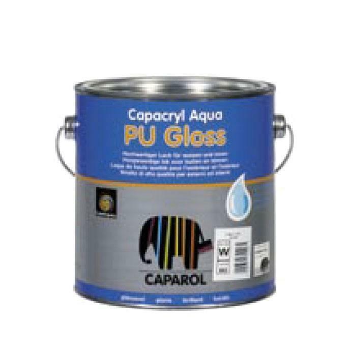 caparol caparol capacryl aqua pu gloss bianco 2,5 lt