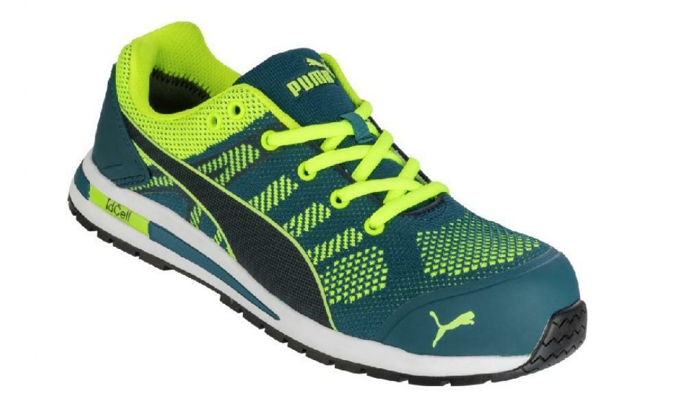 start start scarpa puma elevate knit green low s1p 41