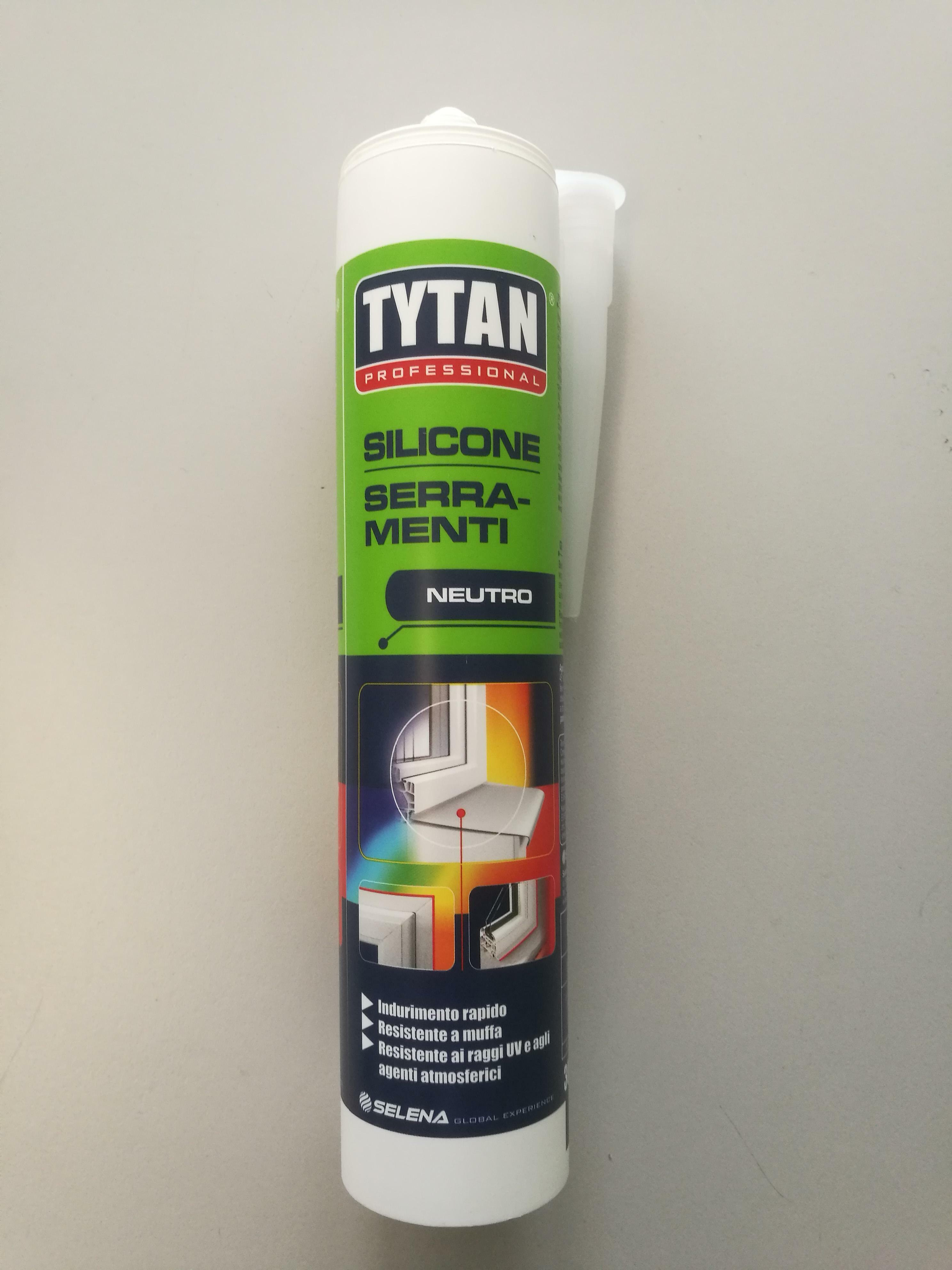 tytan professional tytan professional silicone neutro per serramenti colore avorio 300 ml