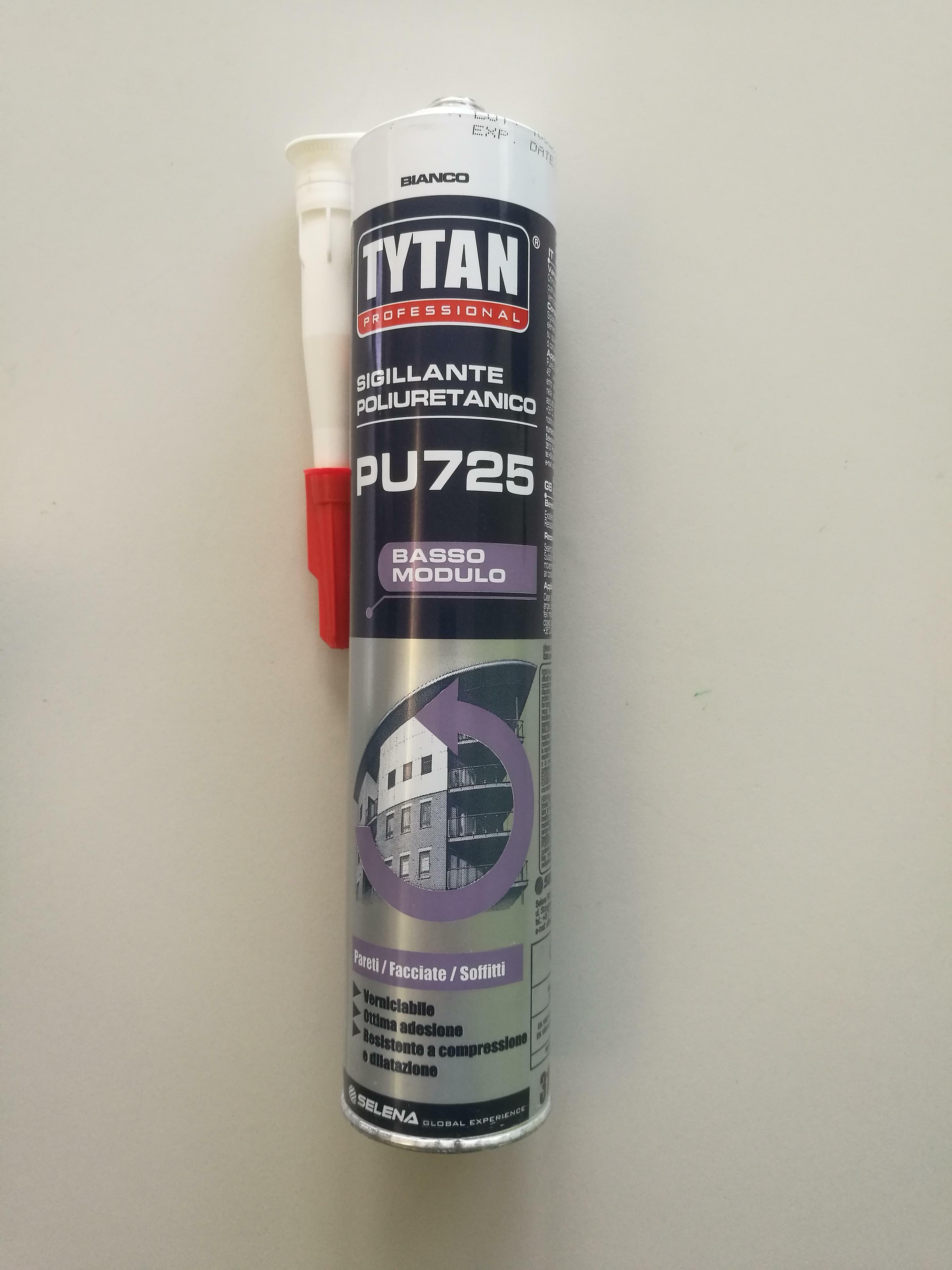tytan professional tytan professional sigillante poliuretanico basso modulo pu725 bianco 310ml