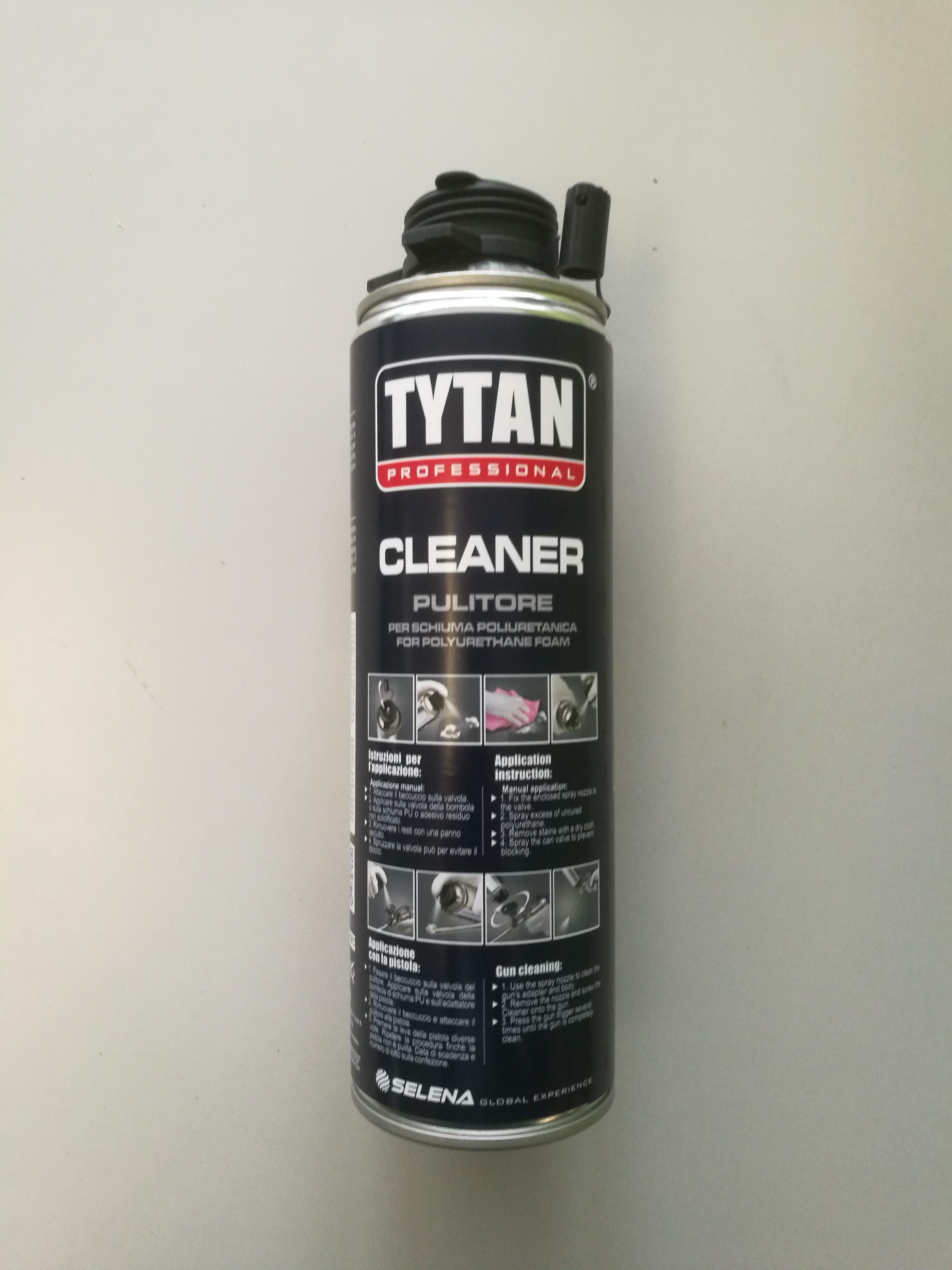 tytan professional tytan professional pulitore per schiuma poliuretanica 500 ml