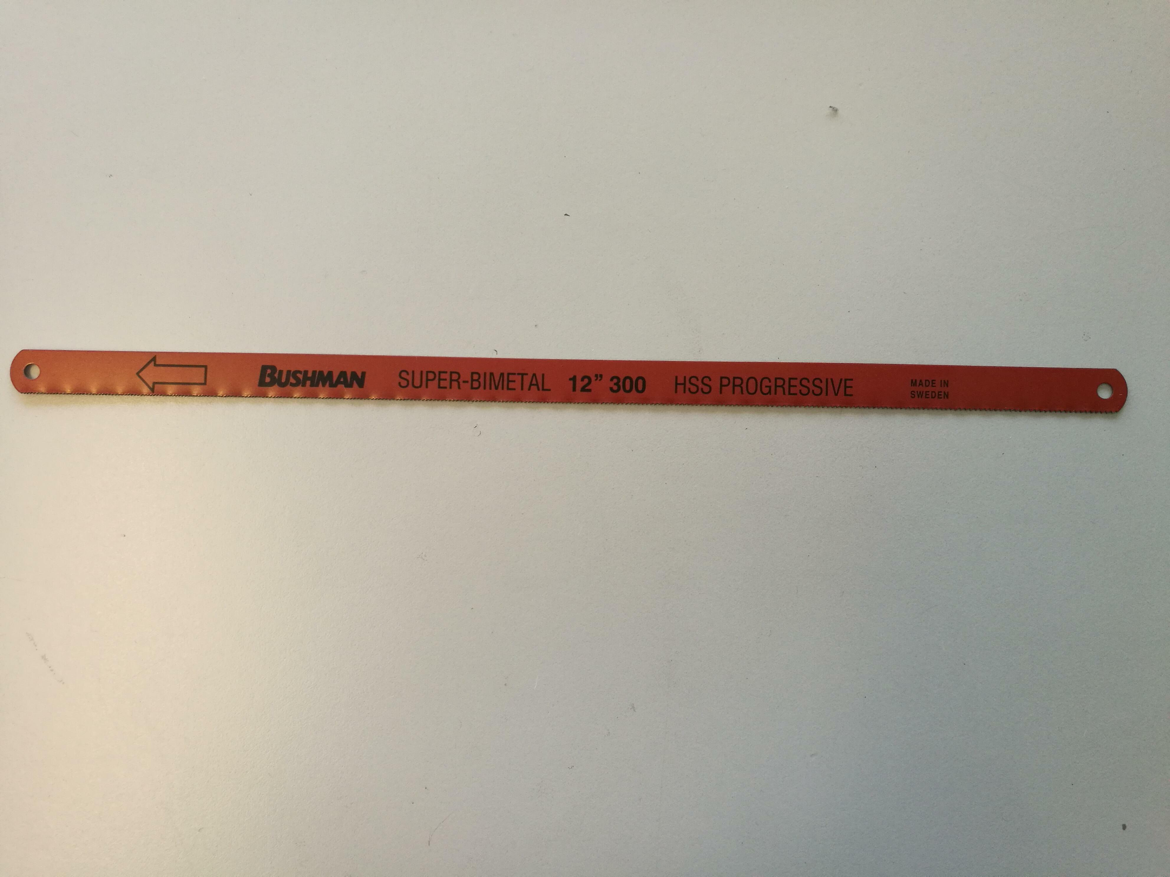 bushman bushman lame ferro super-bimetal 3806-300 hss progressive 30 cm