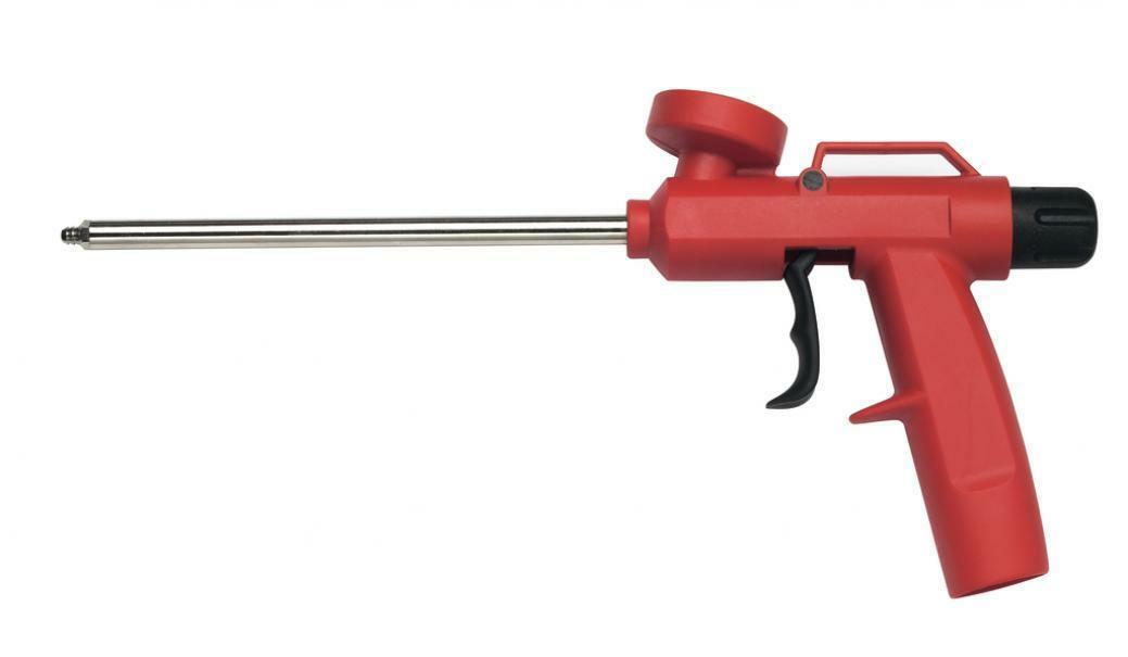 fischer fischer pistola in metallo / nylon pupn 1per schiuma codice 71077