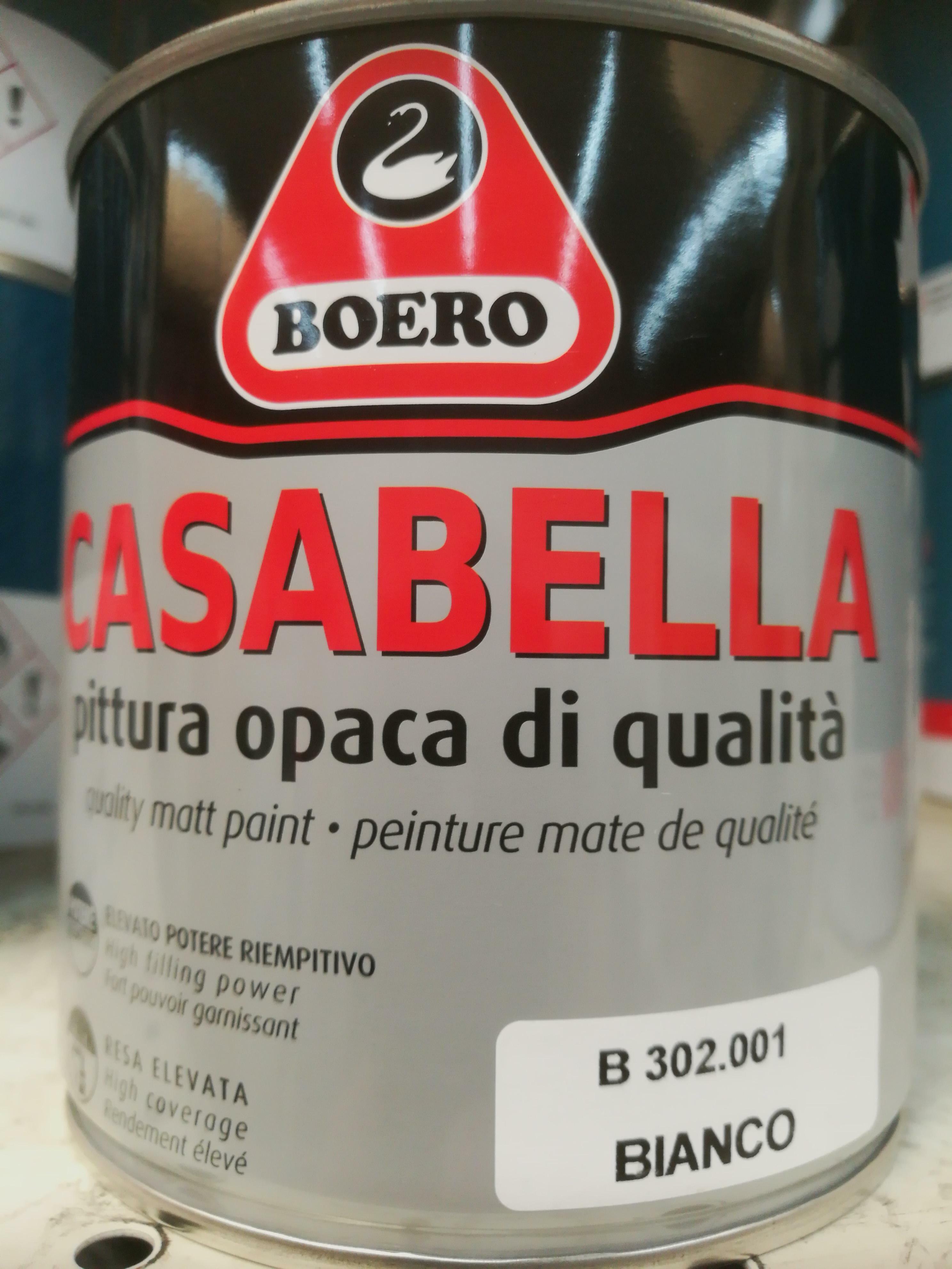 boero boero casabella bianco 0,5 lt pittura di fondo e finitura per il legno
