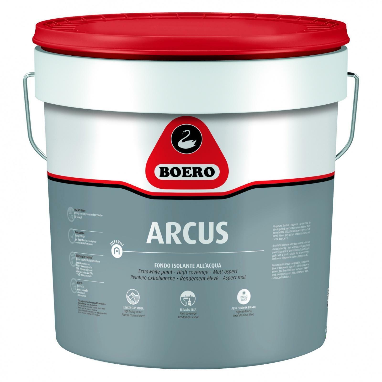 boero boero arcus fondo isolante per macchie bianco 0.75 litri