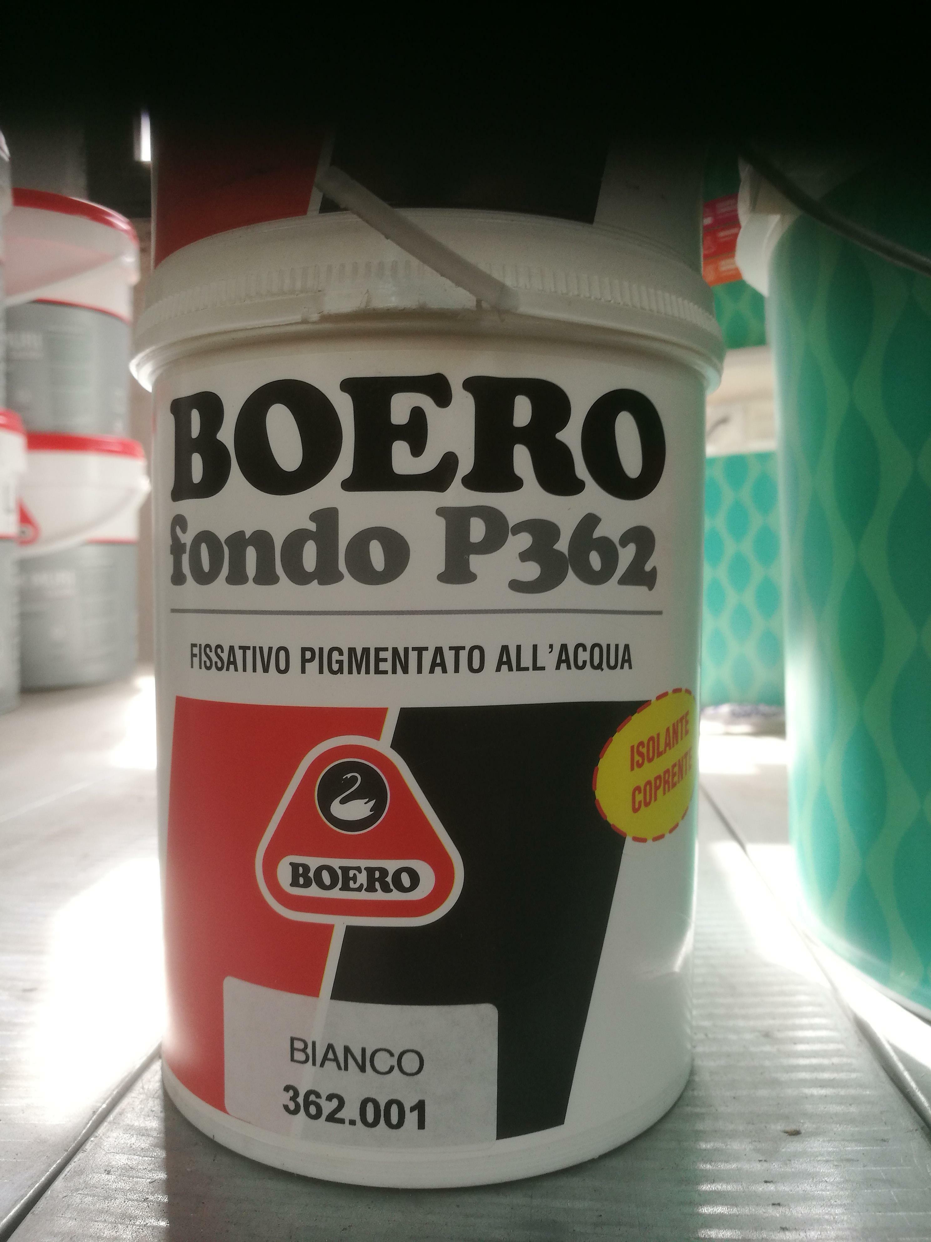 boero boero fondo p 362 bianco 1 lt consolidante all'acqua per pitture