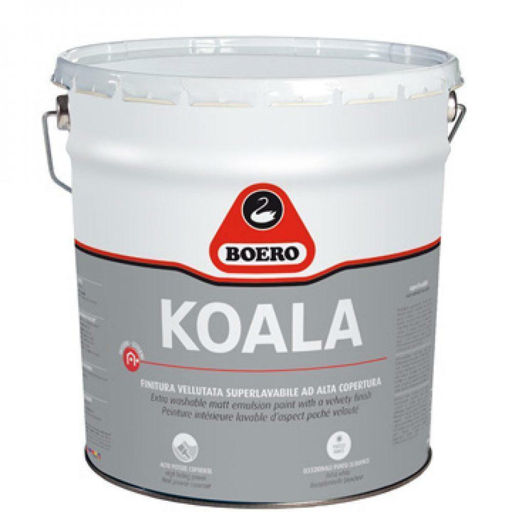 boero boero koala matt bianco 5 lt pittura vellutata superlavabile  cod.