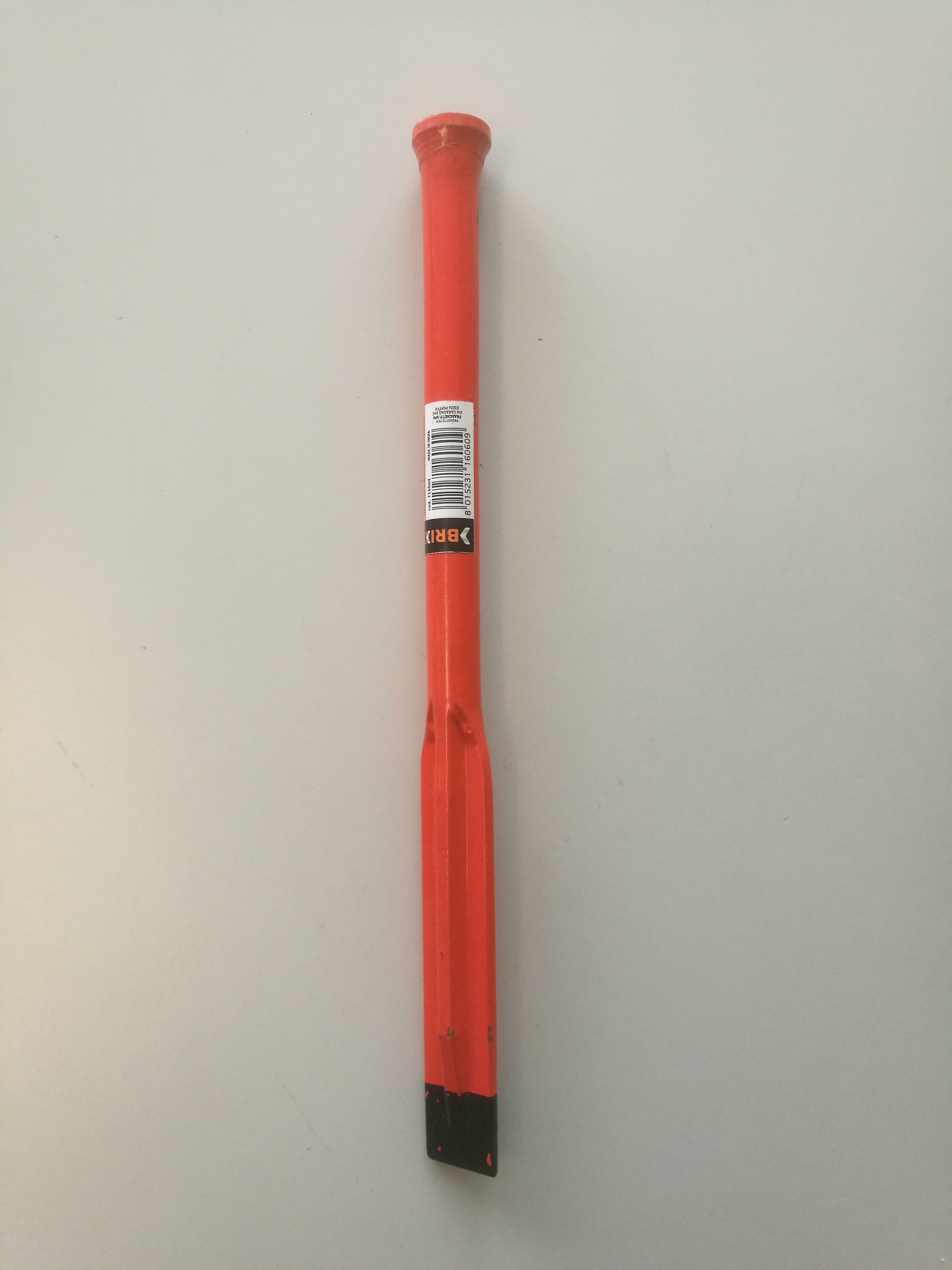brixo brixo scalpello muratore taglio esagonale cm 30