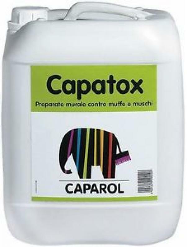 caparol caparol capatox 1 lt cod. disinfettante e antimuffa per pareti interne ed esterne