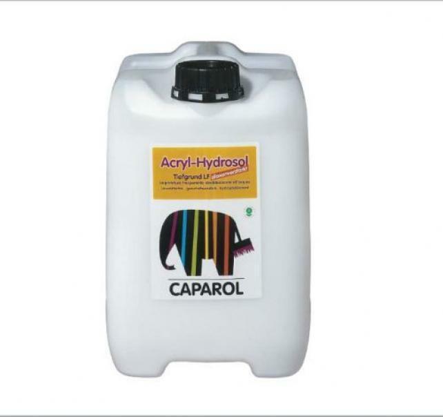 caparol caparol fondo acrilico trasparente per esterni ed interni acryl hydrosol 10 lt