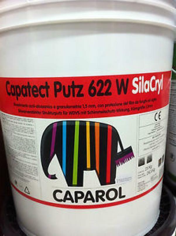 caparol caparol rivestimento acrilsilossanico capatect putz 622 w silacryl base 3 24,5 kg