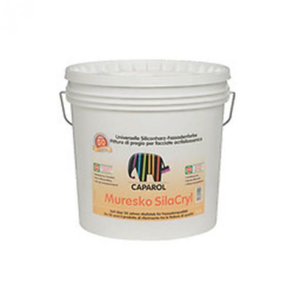 caparol caparol muresko silacryl base 1 10 lt pittura per facciate acril-silossanica