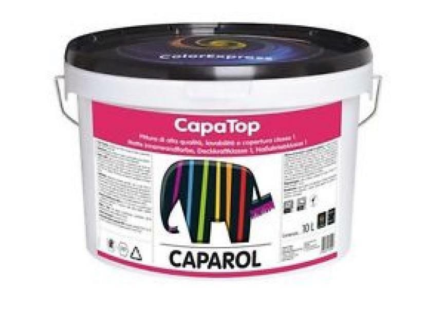 caparol caparol capatop bianco/base 1 1 lt pittura opaca, ultra fine, superlavabile ed alta copertura