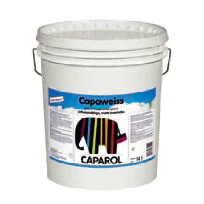caparol caparol capaweiss elf 4 litri pittura semilavabile traspirante