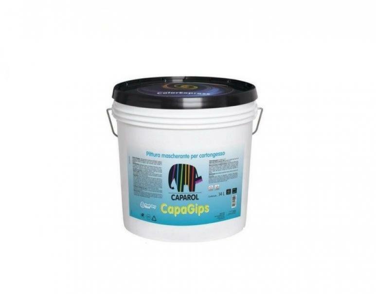 caparol caparol pittura capagips bianco base 1 14 lt indicata su supporti a gesso e cartongesso anche molto assorbenti.