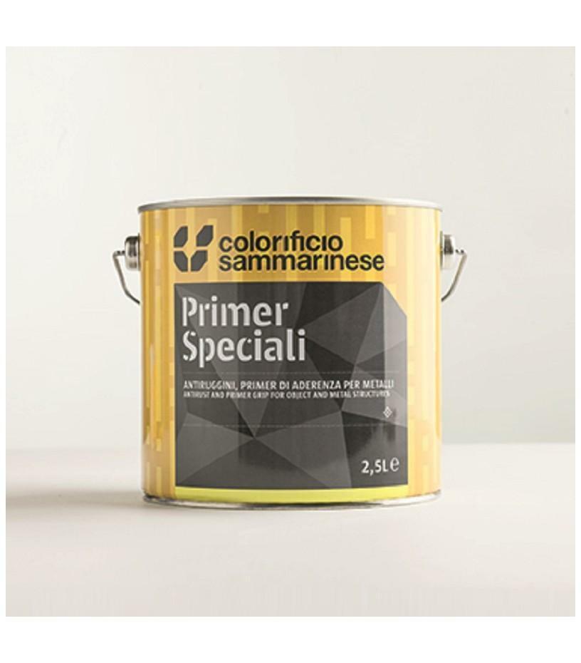 sammarinese sammarinese primer per leghe leggere grigio 0,5 litri adatto per ferro zincato