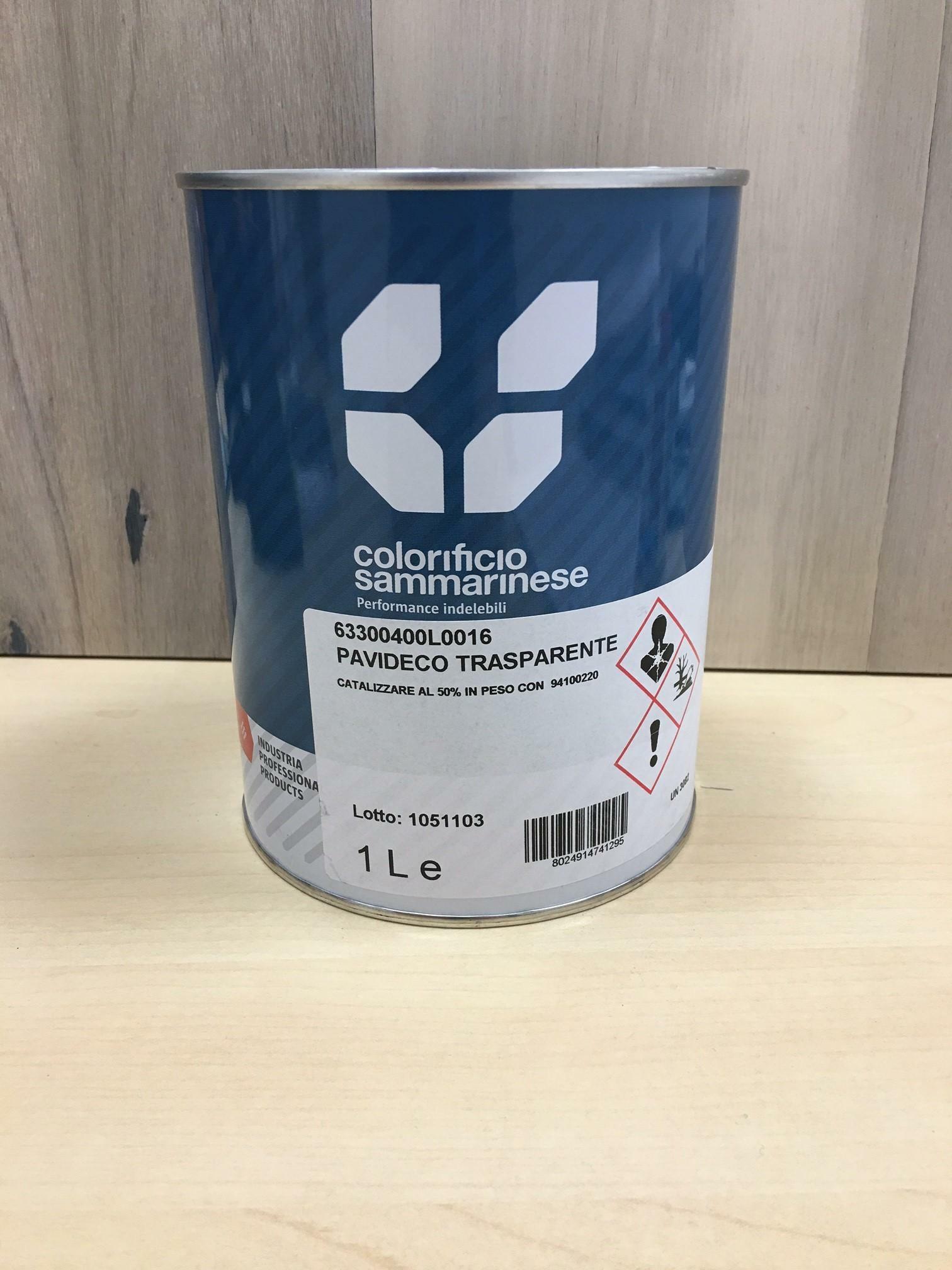 sammarinese pavideco resina epossidica trasparente colabile alti spessori  1 lt catalizzatore non compreso ( cod.9410.0220)