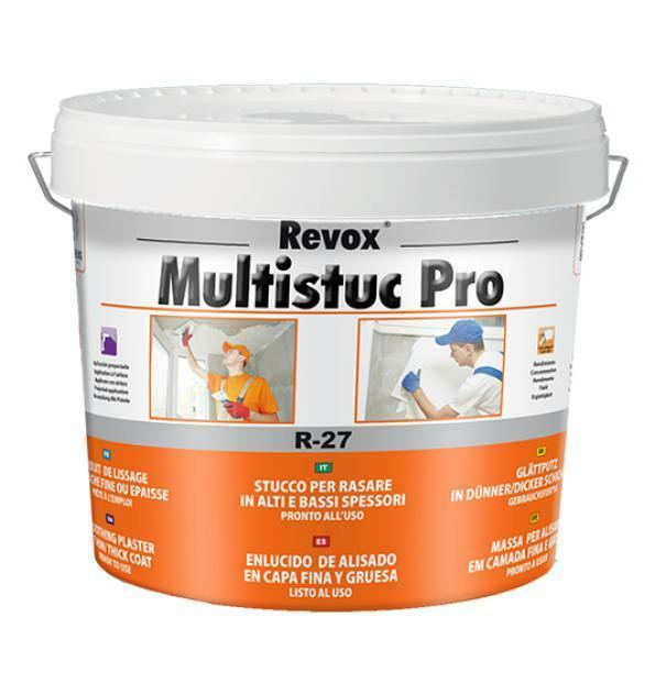 bulova bulova stucco per rasare  r-27 revox multistuc pro 20 kg in pasta
