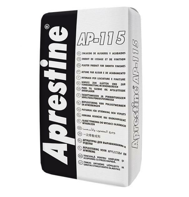 bulova bulova stucco in polvere ap-115 aprestine etichetta bianca 15 kg