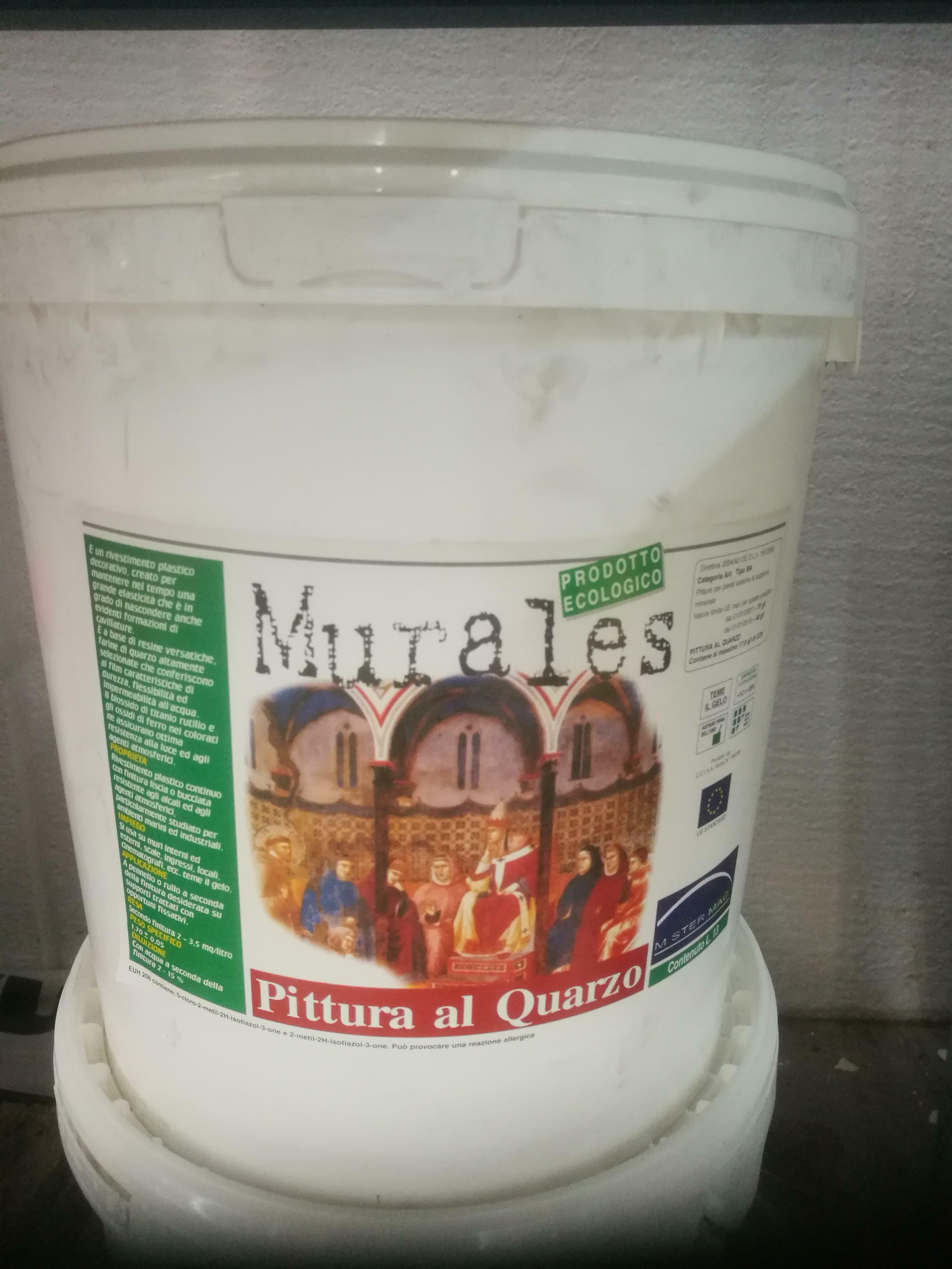 Twente Murales Quarz Bianco 13 Lt Pittura Al Quarzo