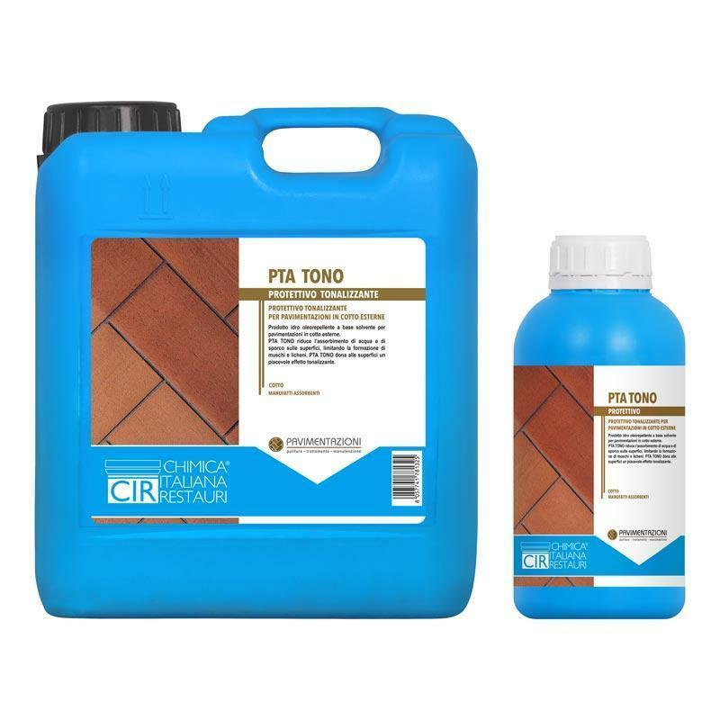 cir cir pta tono trattamento antimacchia per pavimenti esterni in cotto 1 lt