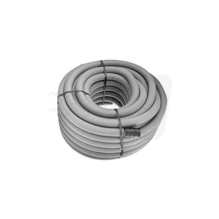 pice pice tubo polietilene corrugato per drenaggio doppia parete mt 1 diametro 125 ( acquisto minimo 50 ml)