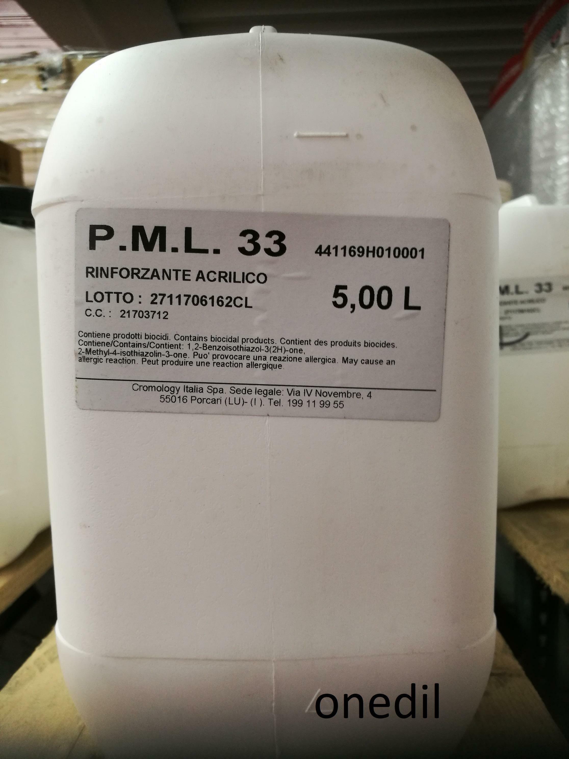materis materis pml 33 rinforzante acrilico 5 lt