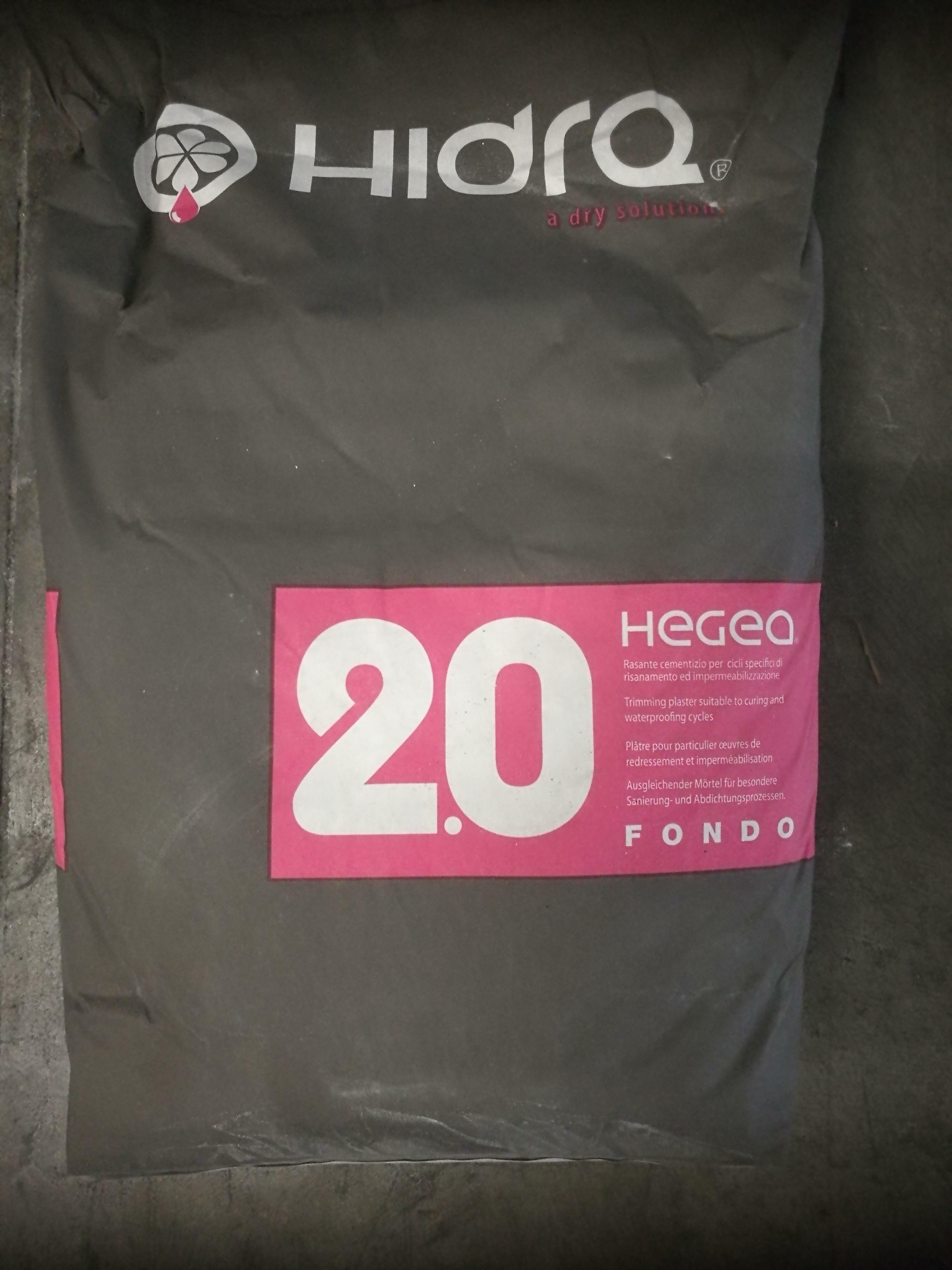 hidra hidra hegea fondo deumidificante 2.0 25 kg