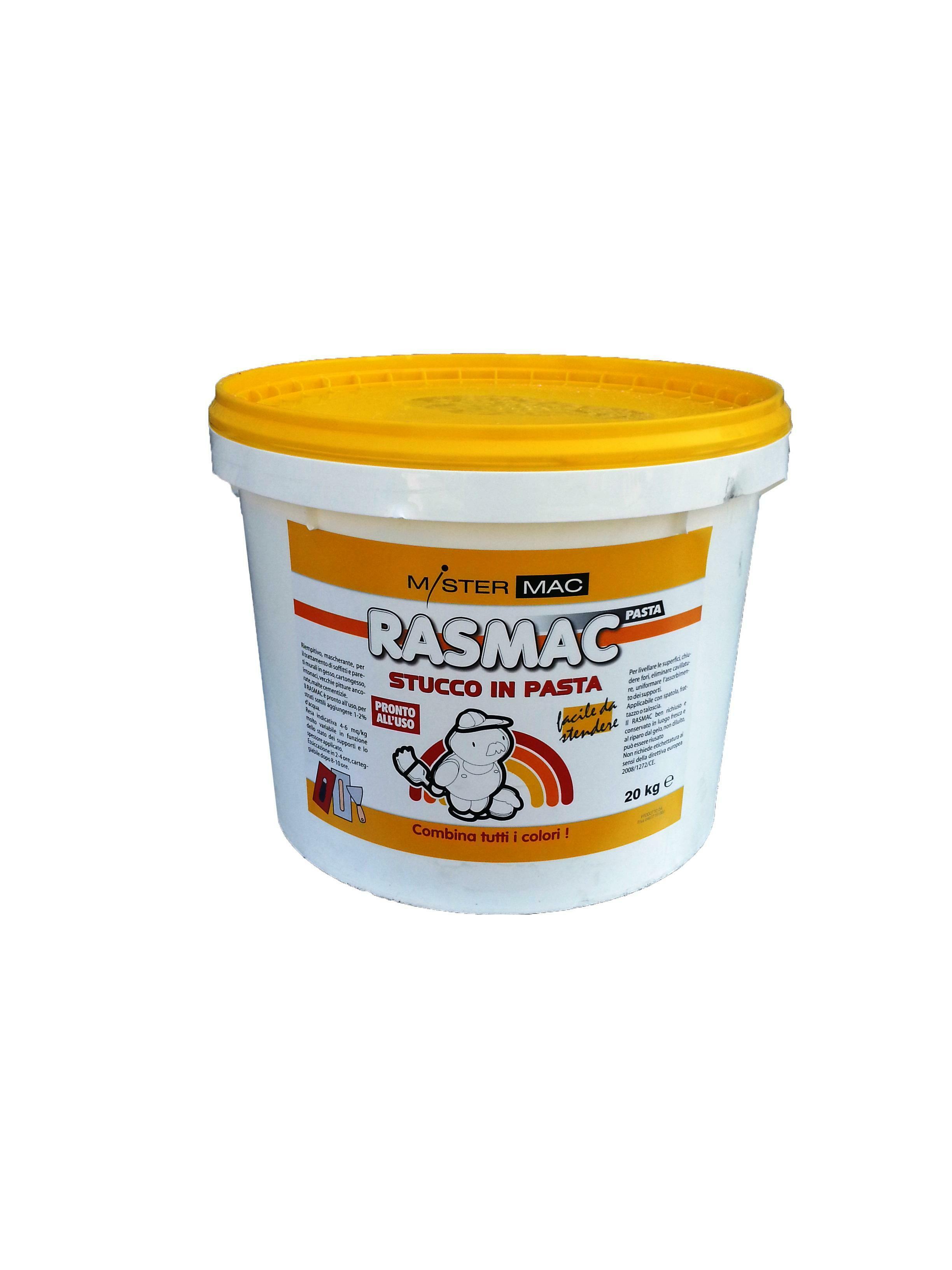 pro pro rasmac stucco in pasta plus bianchissimo 20 kg