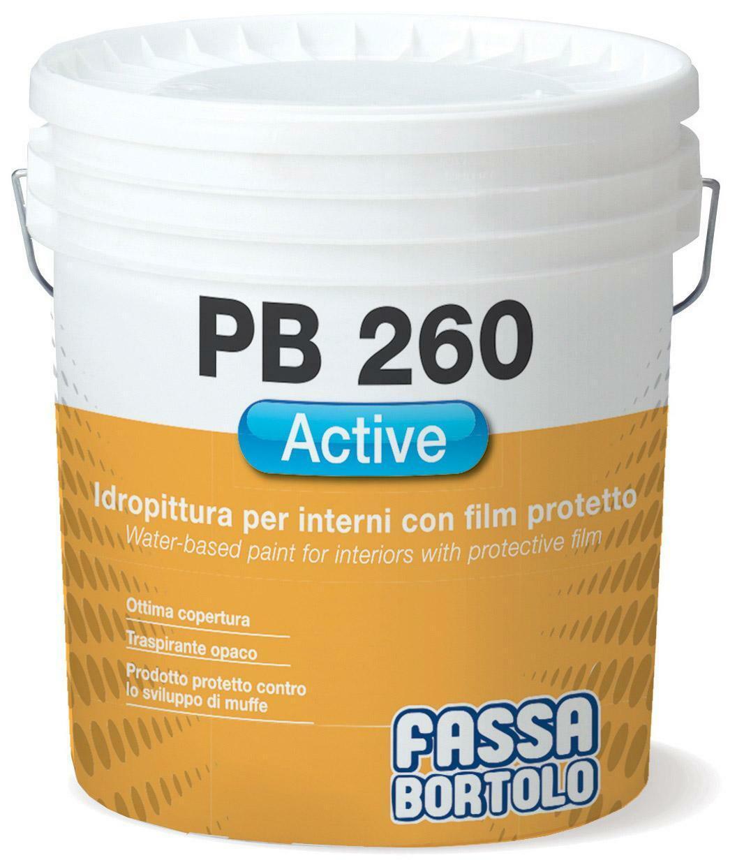 fassa fassa pb 260 hygiene pittura antimuffa bianco 14 lt cod.