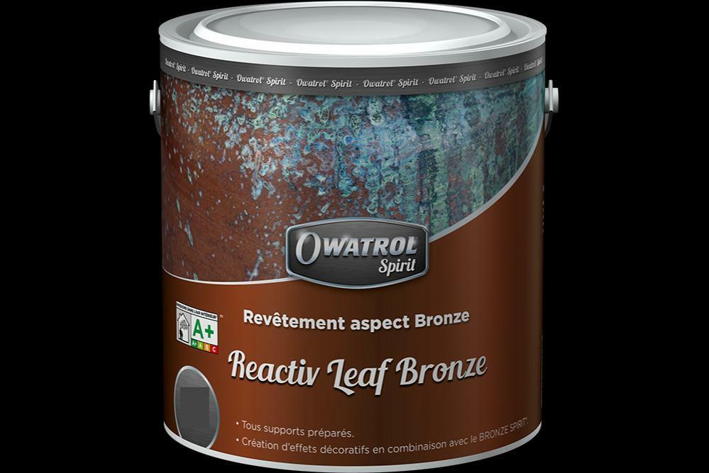 owatrol owatrol reactive leaf bronze primer effetto bronzo 0,5 lt cod.22w156800