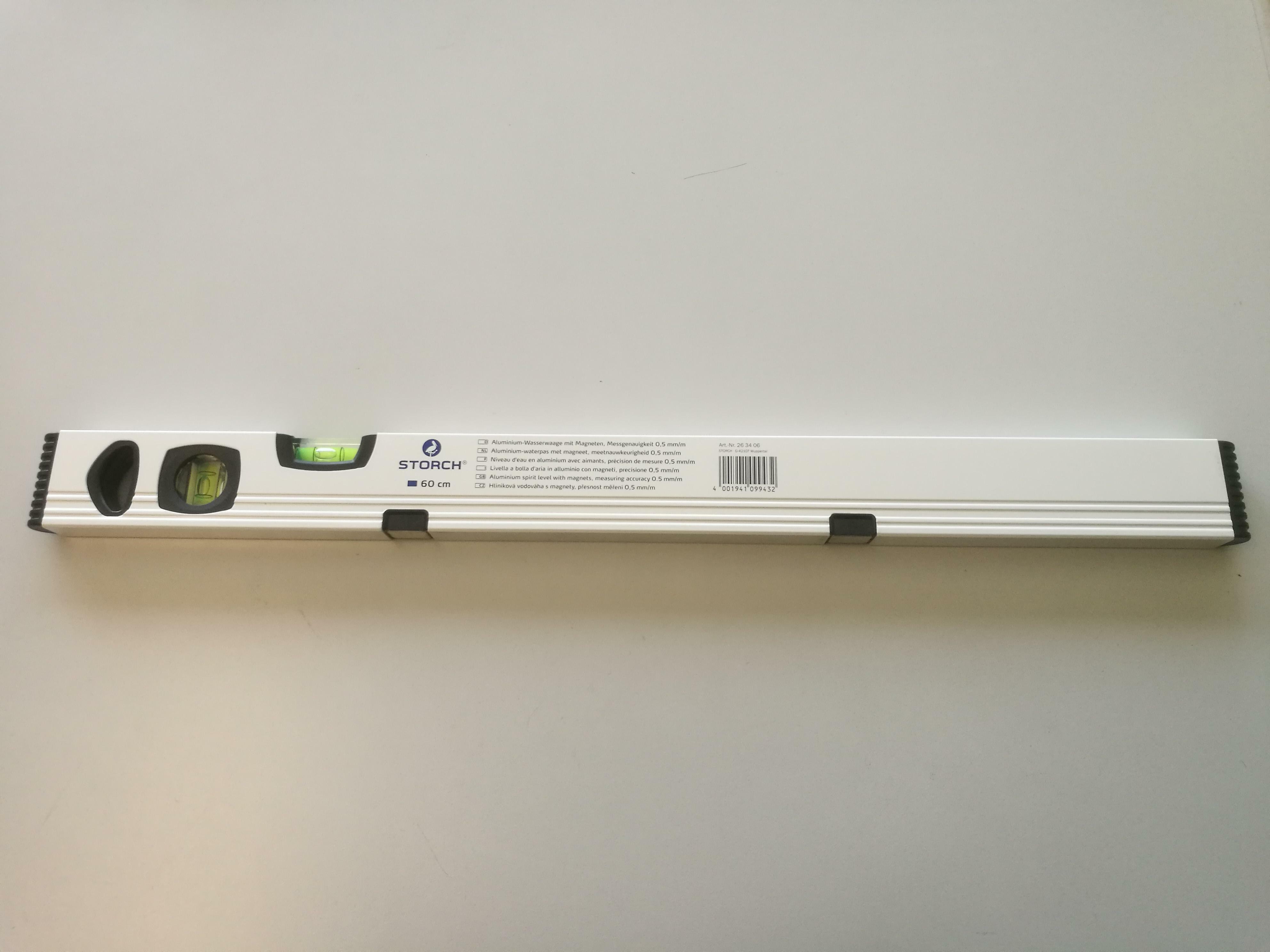 storch storch livella in alluminio magnetica 120 cm