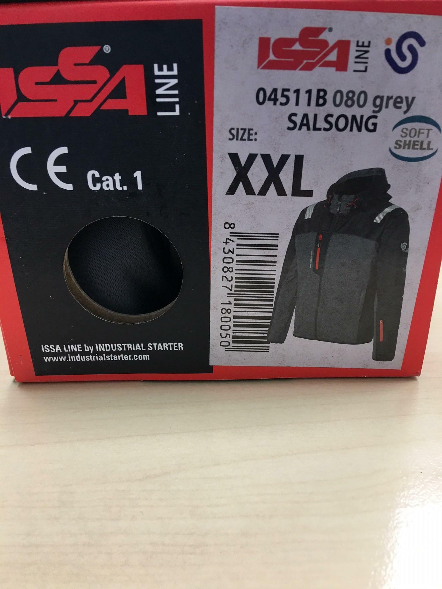 industrial starter giubbino salsong grigio taglia xxl cod.04511 080