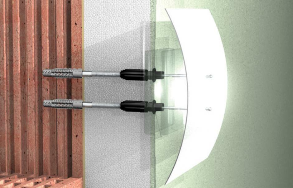 fischer fischer thermax 8/60 m6 fissaggio a spessore su materiali isolanti