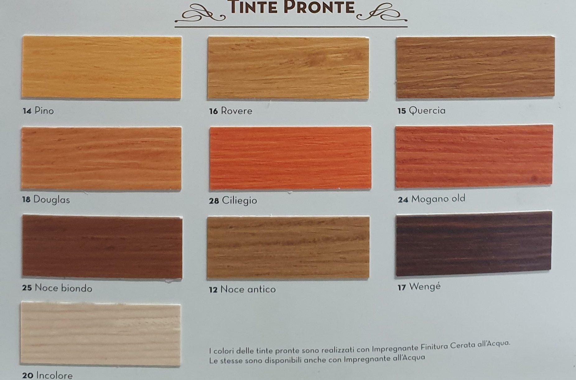 attiva ingham clark finitura effetto cerato all' acqua per legno colore quercia 2,5 lt