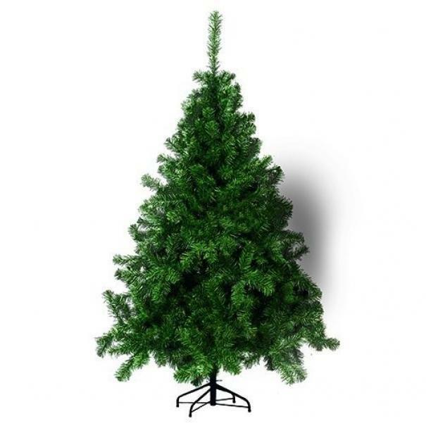 giocoplast giocoplast albero di natale american - verde, 150 cm, 370 rami ,base in ferro